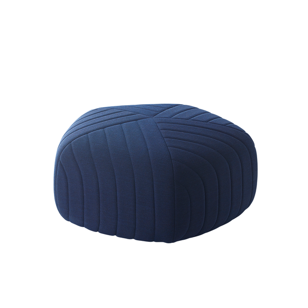 Muuto - Five Pouf - Dark Blue / Small - Lekker Home