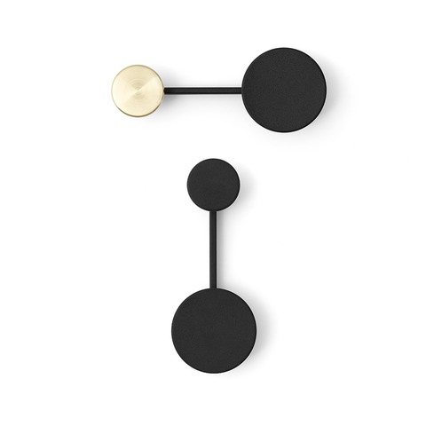 Menu A/S - Afteroom Small Coat Hanger - Black / One Size - Lekker Home