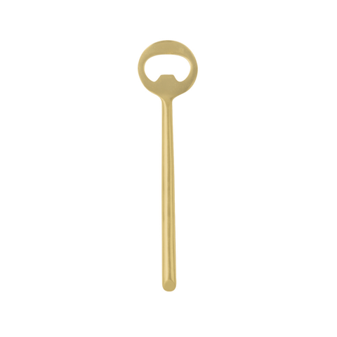 Be Home Decor - Matte Gold Bottle Opener - Lekker Home