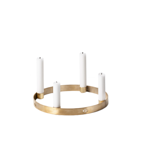 Ferm Living - Circle Candleholder - Lekker Home