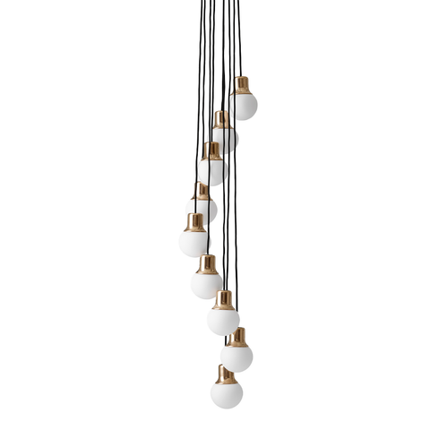 &Tradition - NA6 Mass Light Chandelier - Lekker Home
