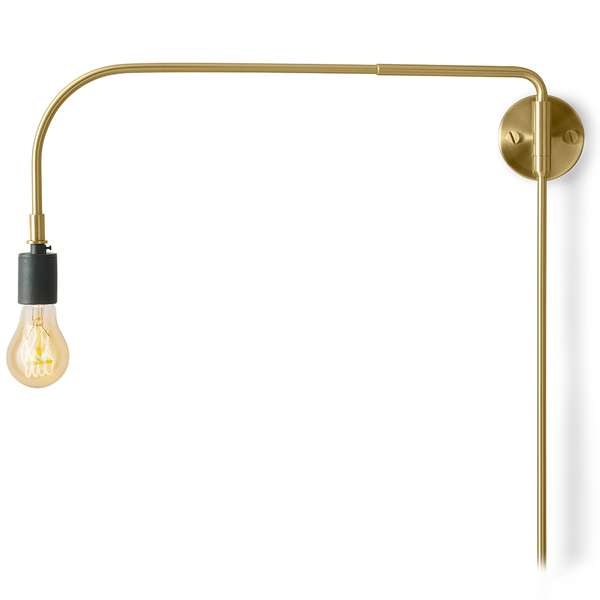 Menu A/S - Warren Lamp - Brass / One Size - Lekker Home