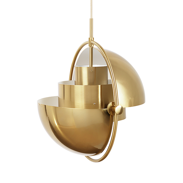 GUBI - Multi-Lite Pendant - Shiny Brass / One Size - Lekker Home