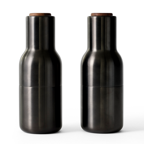 Menu A/S - Bottle Grinder - Set of 2 - Nude / Walnut - Lekker Home