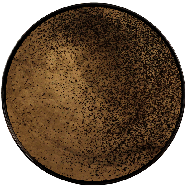 Ethnicraft NV - Aged Mirror Round Tray - Lekker Home
