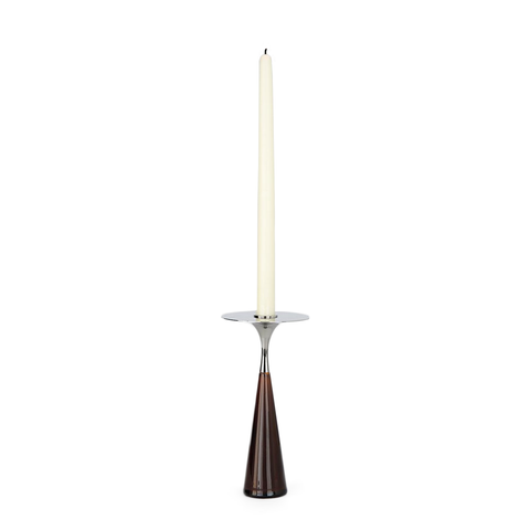 Roll & Hill - Moor Candleholder - Polished Brass / One Size - Lekker Home