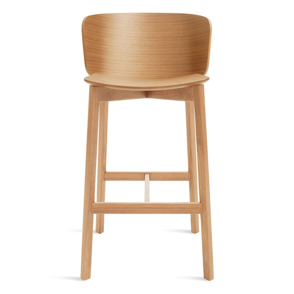 Blu Dot - Buddy Barstool - White Oak / One size - Lekker Home