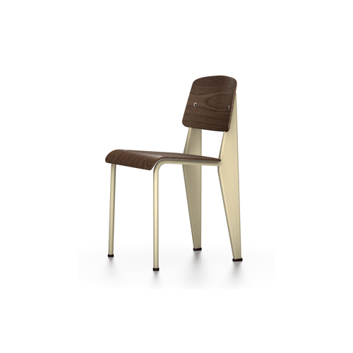 Vitra - Standard Chair - Ecru / Black Pigmented Walnut - Lekker Home