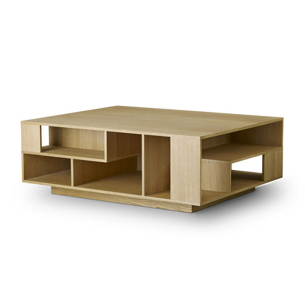 "Eilersen - Penthouse Coffee Table - Lacquered Natural Oak / 39"" - Lekker Home"