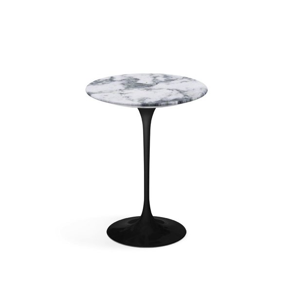 knoll saarinen side table 16 round lekker home