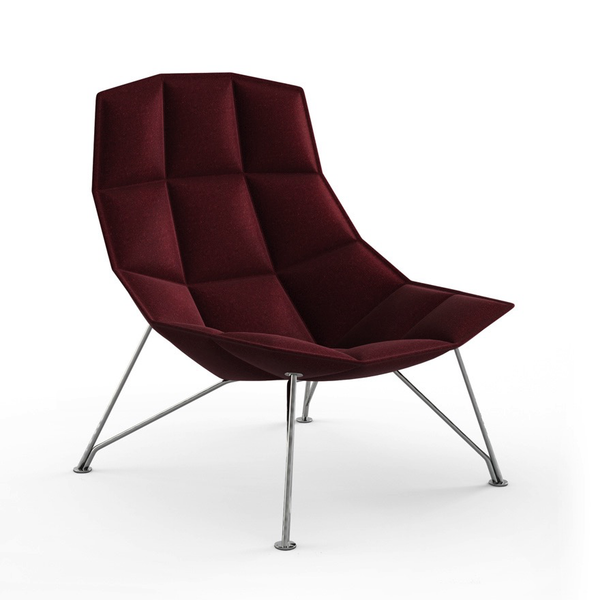 Knoll - Jehs+Laub Lounge Chair - Wire Base - Lekker Home - 1