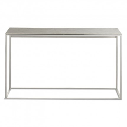 Blu Dot - Minimalista Console Table - Marble / White - Lekker Home