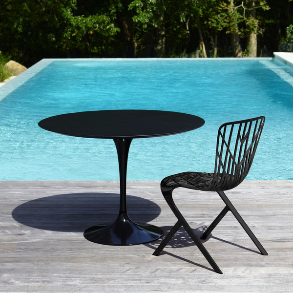 "Knoll - Saarinen Outdoor Dining Table 42""ù - Lekker Home - 5"