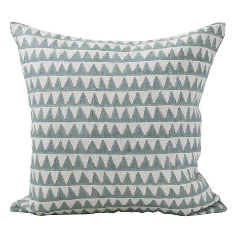 Walter G - Pyramid Cushion - Celadon / One Size - Lekker Home