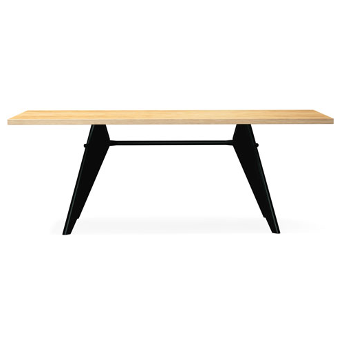 Vitra - EM Table - Wood - Lekker Home - 11