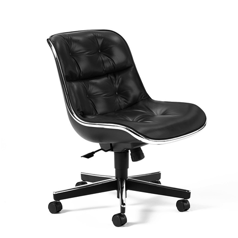 Knoll - Pollock Executive Chair - Volo Black / Without Arms - Lekker Home