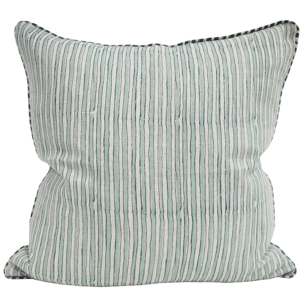 Walter G - Ticking Cushion - Lekker Home - 2