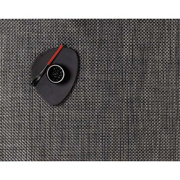 Chilewich - Basketweave Placemat - Carbon / Rectangle - Lekker Home
