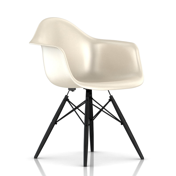 Herman Miller - Eames® Molded Fiberglass Armchair - Wood Dowel Base - Lekker Home - 22