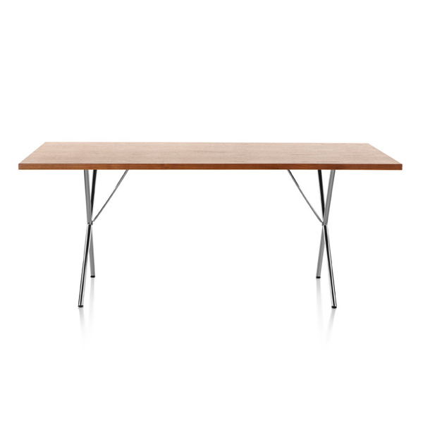 Nelson x leg table by herman miller lekker home herman miller nelson x leg table lekker home 1 watchthetrailerfo