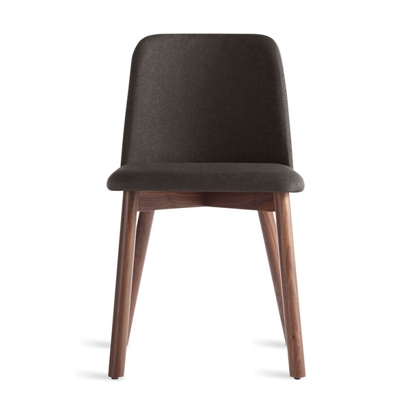 Blu Dot - Chip Dining Chair - Gunmetal / Walnut - Lekker Home