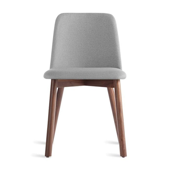 Blu Dot - Chip Dining Chair - Pewter / Walnut - Lekker Home