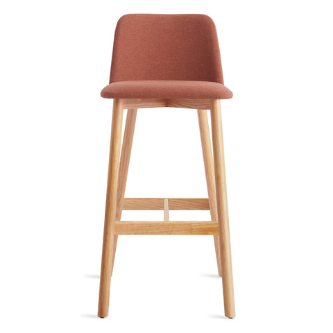 Blu Dot - Chip Barstool - Toohey Tomato / White Oak - Lekker Home