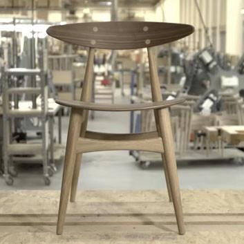 Carl Hansen - CH33 Dining Chair - Lekker Home