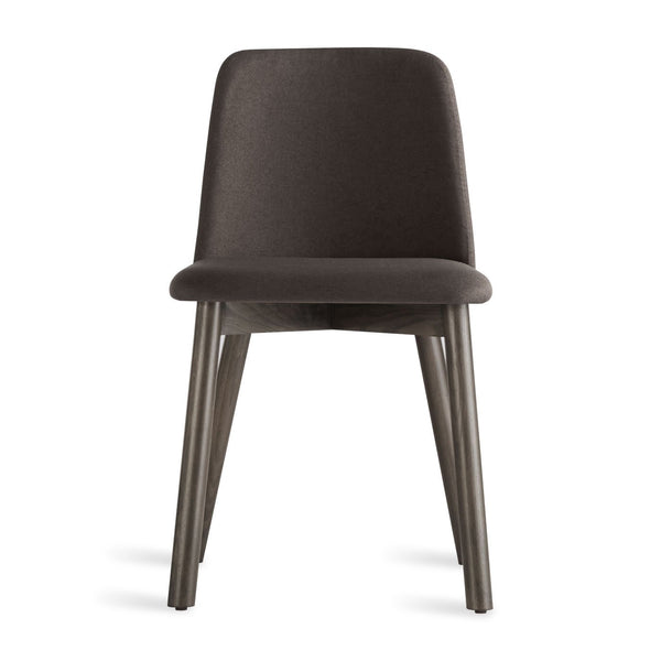 Blu Dot - Chip Dining Chair - Gunmetal / Smoke - Lekker Home