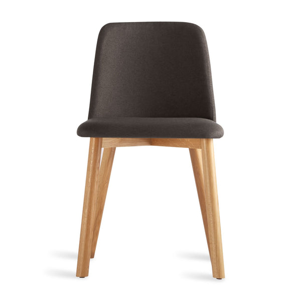 Blu Dot - Chip Dining Chair - Gunmetal / White Oak - Lekker Home