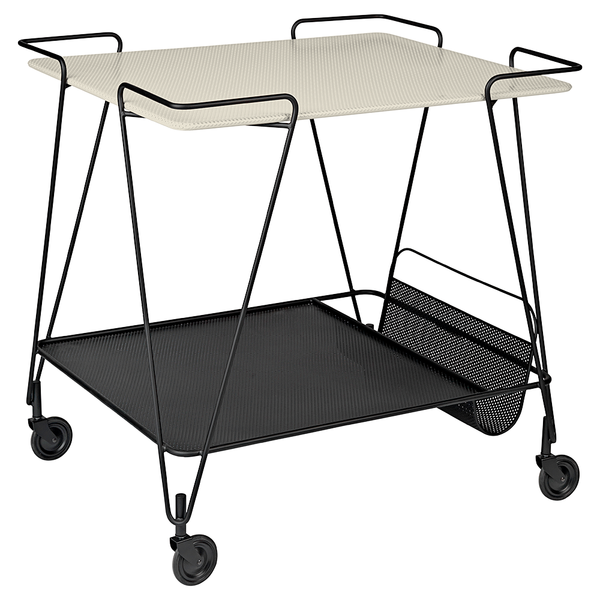 GUBI - Matégot Trolley - Cream White / One Size - Lekker Home