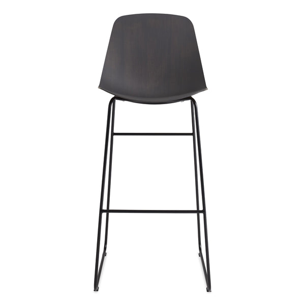 Blu Dot - Clean Cut Barstool with Sled Leg - Lekker Home