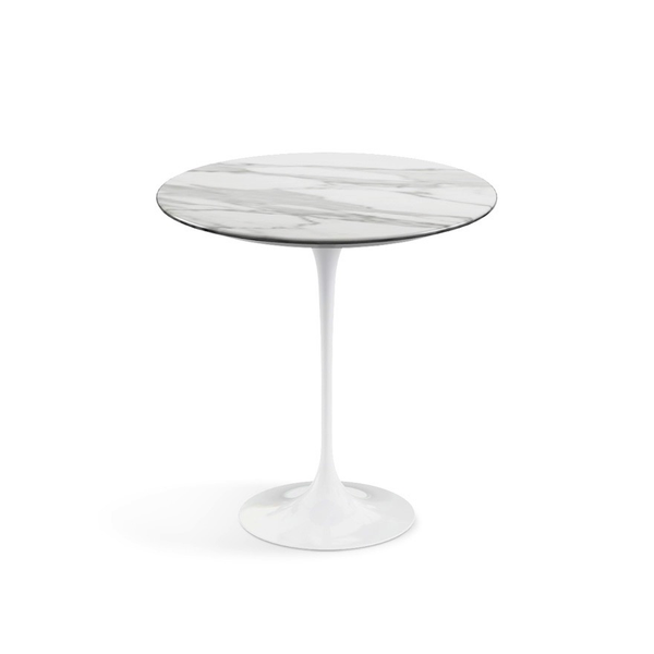 "Knoll - Saarinen Side Table 20"" Round - Lekker Home - 10"