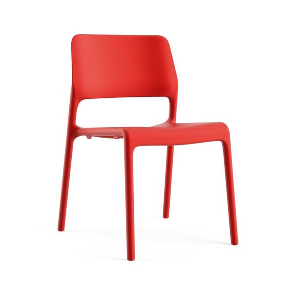 Knoll - Spark® Series Side Chair - Red / One Size - Lekker Home
