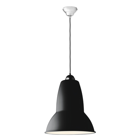 Anglepoise - Original 1227™ Giant Pendant - Satin Jet Black / One Size - Lekker Home