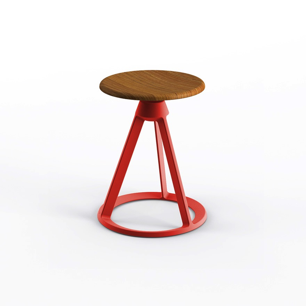 Knoll - Piton™ Fixed Height Stool Outdoor - Lekker Home - 11
