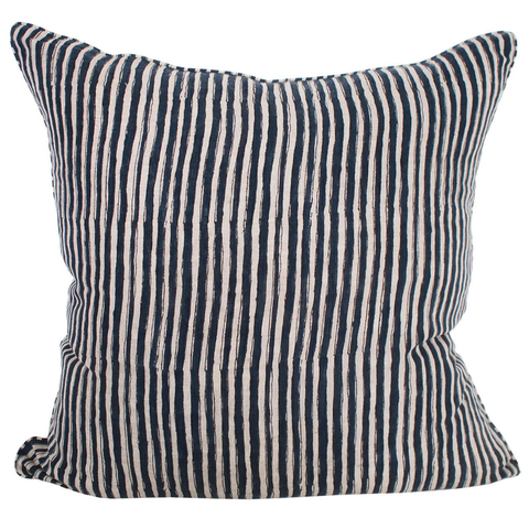 Walter G - Ticking Cushion - Lekker Home - 1