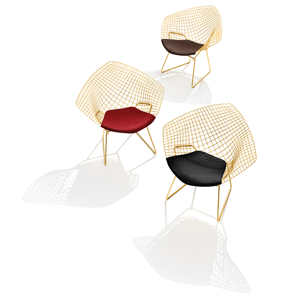 Knoll - Bertoia Diamond Chair - Gold - Lekker Home - 5