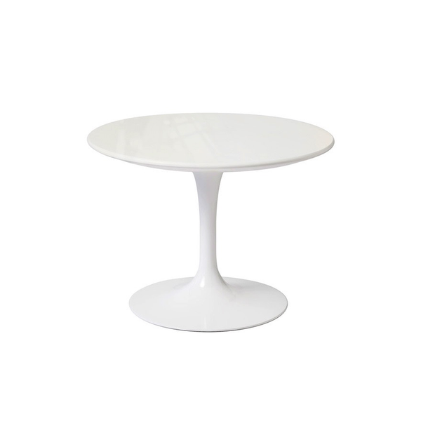 "Knoll - Saarinen Outdoor Side Table Low 20""ù - Lekker Home - 4"