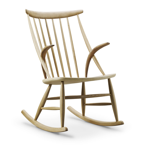 Eilersen - IW3 Rocking Chair - Concrete / One Size - Lekker Home