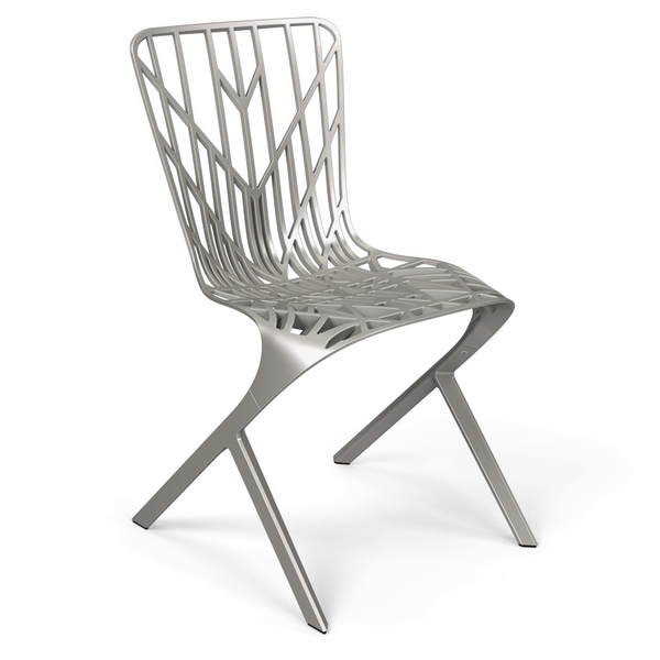 Knoll - Washington Skeleton™ Aluminum Side Chair - Lekker Home - 6