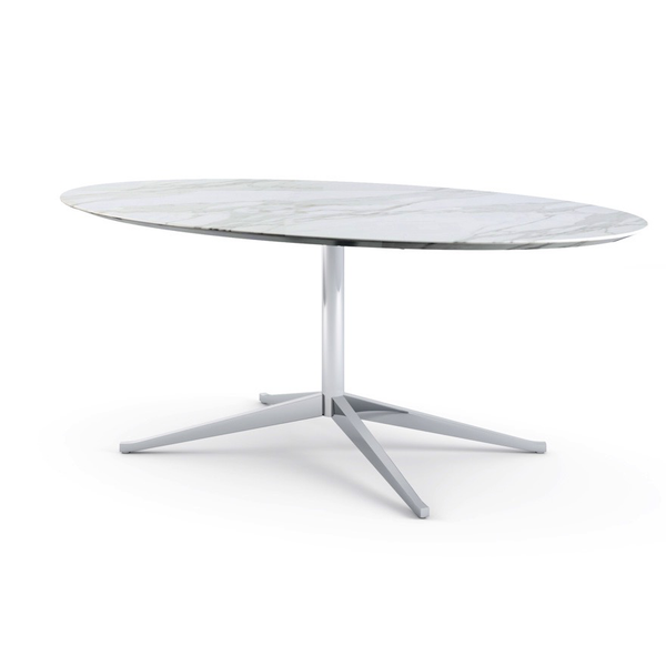 Knoll - Florence Knoll Table Desk Oval - Lekker Home - 1