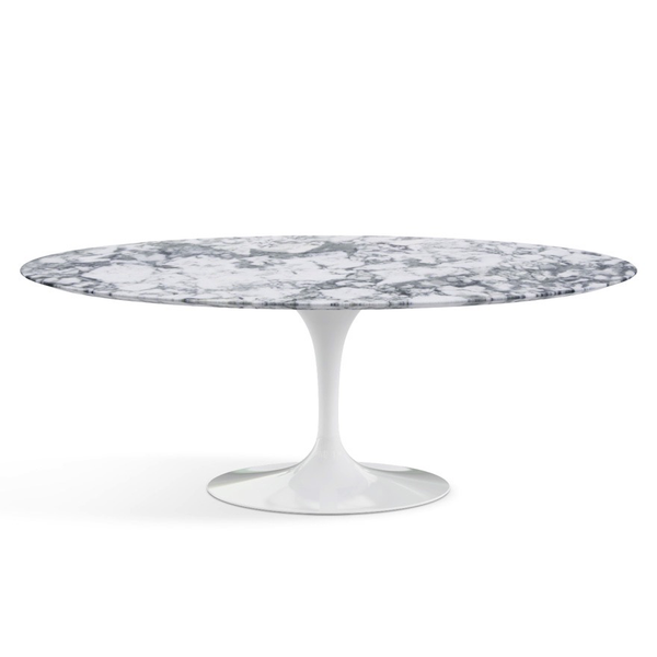 "Knoll - Saarinen Dining Table 78"" Oval - Lekker Home - 15"
