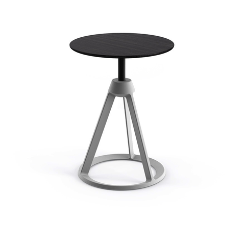 Knoll - Piton™ Side Table - Jet Black / Ebonized Ash - Lekker Home