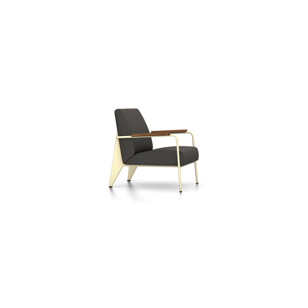 Vitra - Fauteuil de Salon - Twill Dark Grey / Ecru - Lekker Home