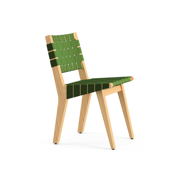 Knoll - Risom Child's Side Chair - Green / Webbed Back - Lekker Home