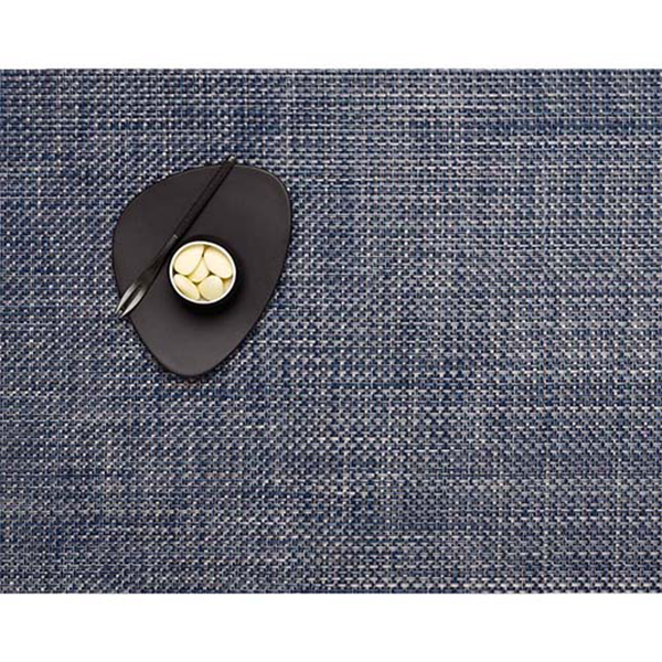 Chilewich - Basketweave Placemat - Denim / Rectangle - Lekker Home