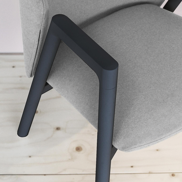 Bensen - Pub Chair - Scoop 36 / Ash - Lekker Home