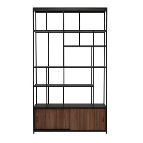 Ethnicraft NV - Studio Rack - Teak / Open - Lekker Home