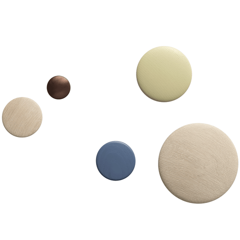 Muuto - The Dots Coat Hook - Ash / Extra Small - Lekker Home